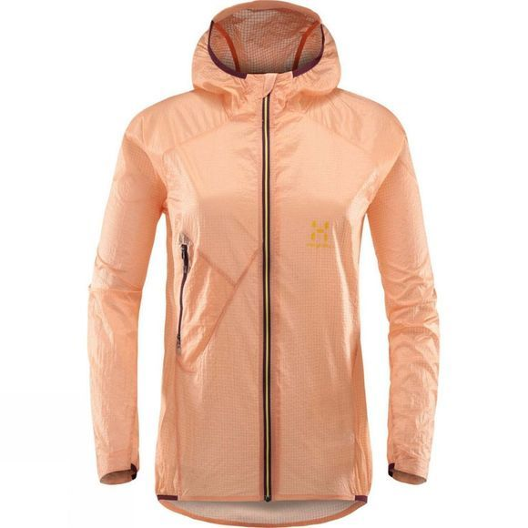 Womens L.I.M Shield Comp Hooded Jacket
