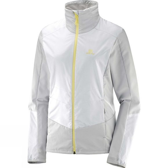 Salomon Womens Active Wing Jacket Vapor/White