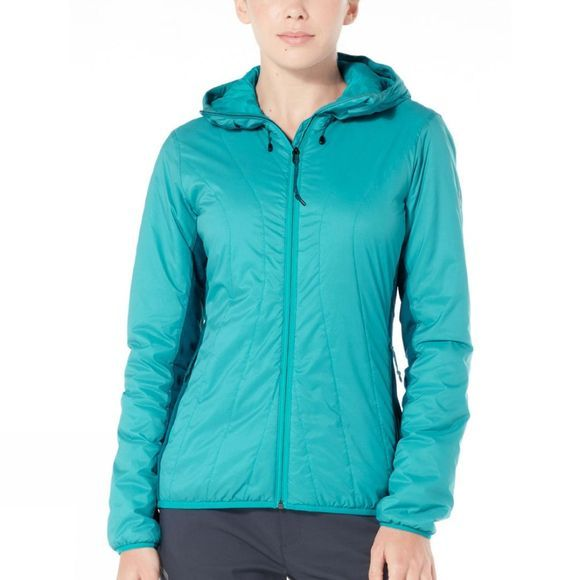 Womens Hyperia Lite Hybrid Hooded Jacket