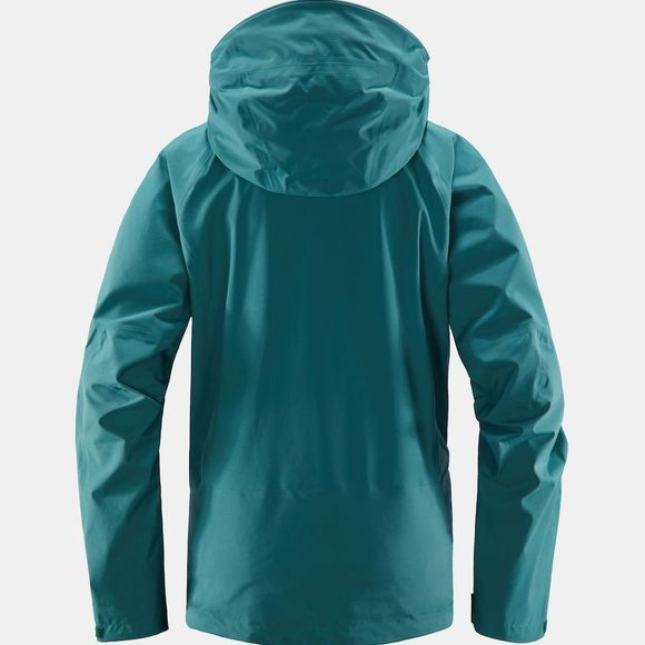 Haglofs Womens Astral Jacket Willow green
