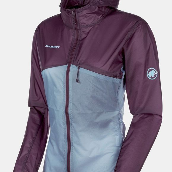 Mammut Womens Convey WB Hooded Jacket Galaxy/Zen