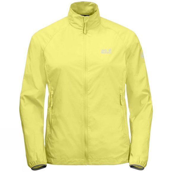 Jack Wolfskin Womens Terra Trail Jacket Lemon