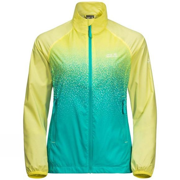 Jack Wolfskin Womens Starry Night Jacket Lemon