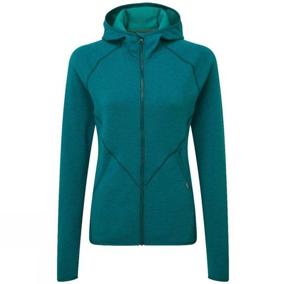 Mountain Equipment Womens Calico Hooded Jacket Tasman Blue
