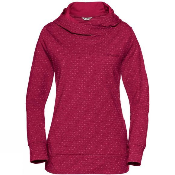 Vaude Womens Tuenno Pullover Crimson Red