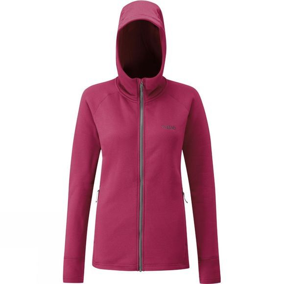 Rab Womens Power Stretch Pro Jacket Anemone