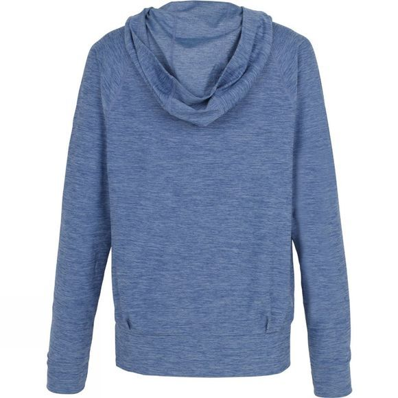 The North Face Womens Motivation Classic Hoodie Coastal Fjord Blue Heather