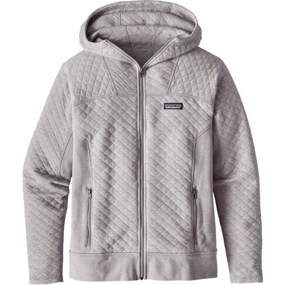Womens Cotton Quilt Hoody