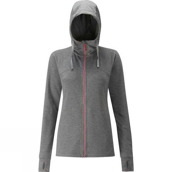 Rab Womens Top-Out Hoody Anthracite Marl