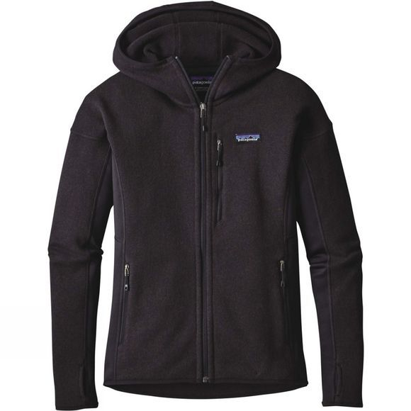 Patagonia Womens Performance Better Sweater Hoody Black