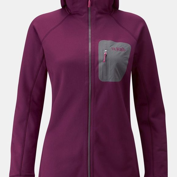 Rab Womens Superflux Hoody Berry