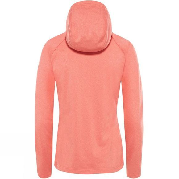 The North Face Tech Mezzaluna Hoodie Spiced Coral White Heather