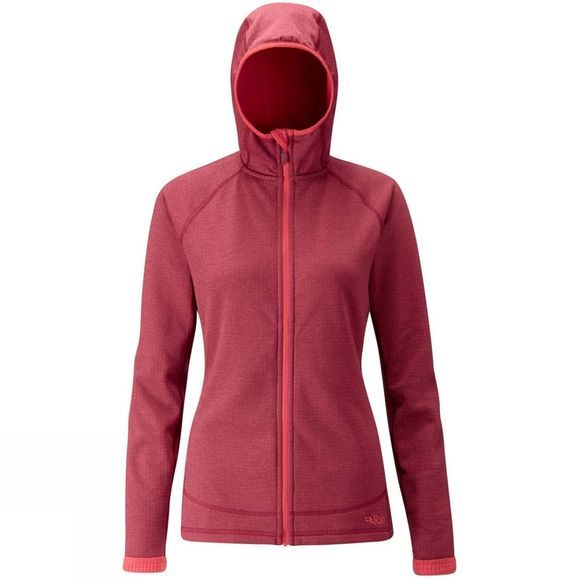Womens Nucleus Hooded Jacket