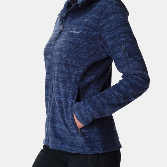 Columbia Womens Fast Trek Hooded Jacket Nocturnal
