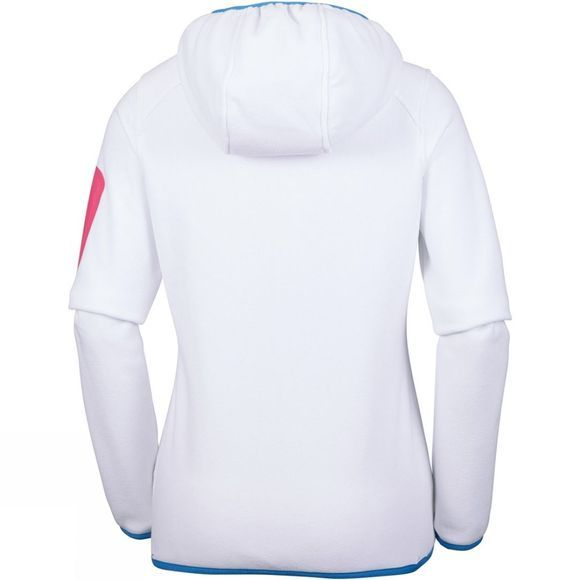 Columbia Womens Outdoor Novelty Hooded Fleece White