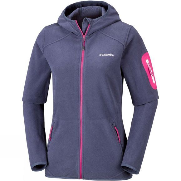 Womens Outdoor Novelty Hooded Fleece