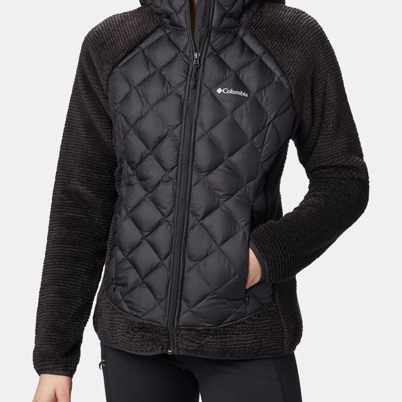 Columbia Womens Techy Hybrid Fleece Black
