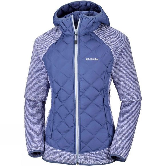 Womens Techy Hybrid Fleece