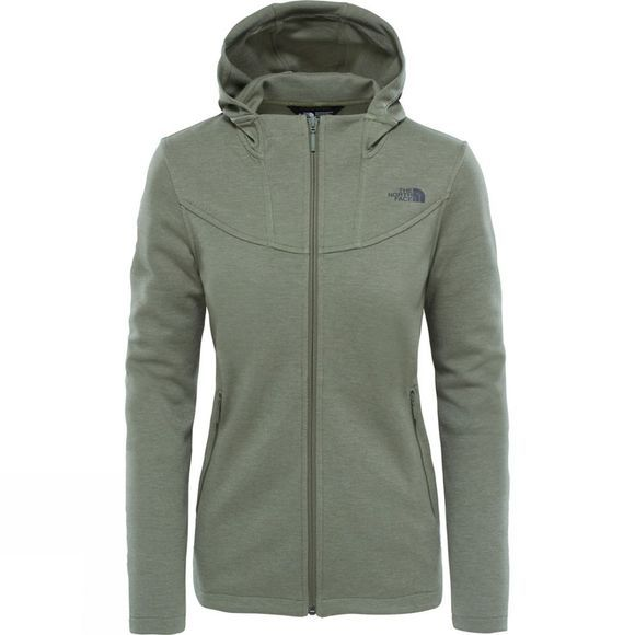 The North Face Slacker High-Collar Hoodie Four Leaf Clover Heather