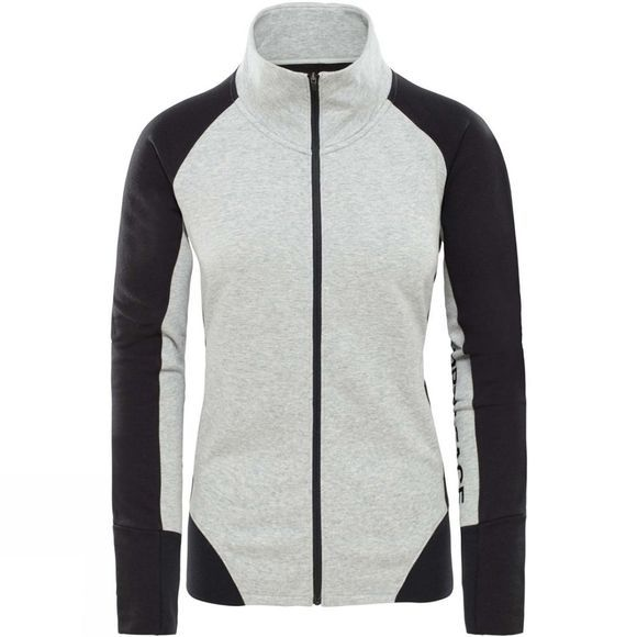 The North Face Womens Train N Logo Fleece TNF Light Grey Heather/TNF Black