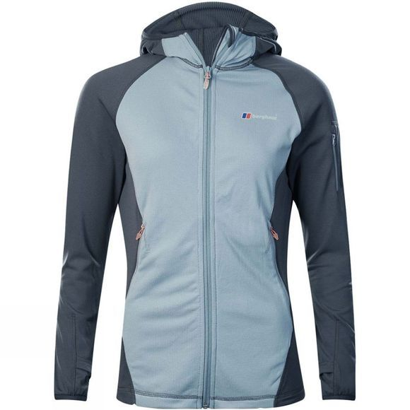 Berghaus Womens Pravitale Light 2.0 Jacket Trade Winds/Carbon