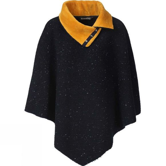 Womens Dotted Poncho