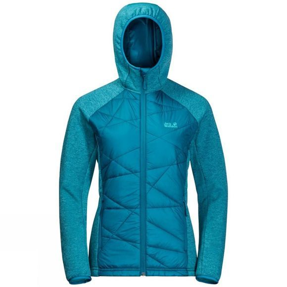 Jack Wolfskin Womens Skyland Crossing Fleece Celestial Blue