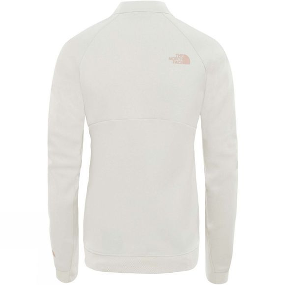 The North Face Womens Vista Tek Fullzip Moonlight Ivory