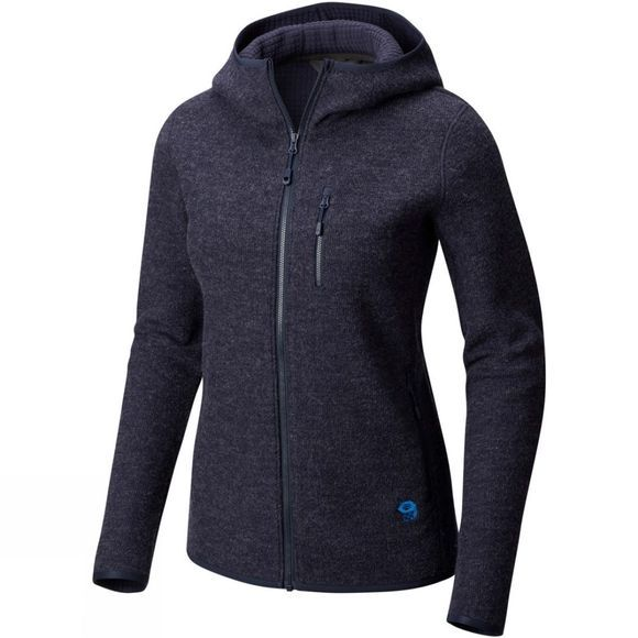 Mountain Hardwear Women's Hatcher Full Zip Hoody Dark Zinc