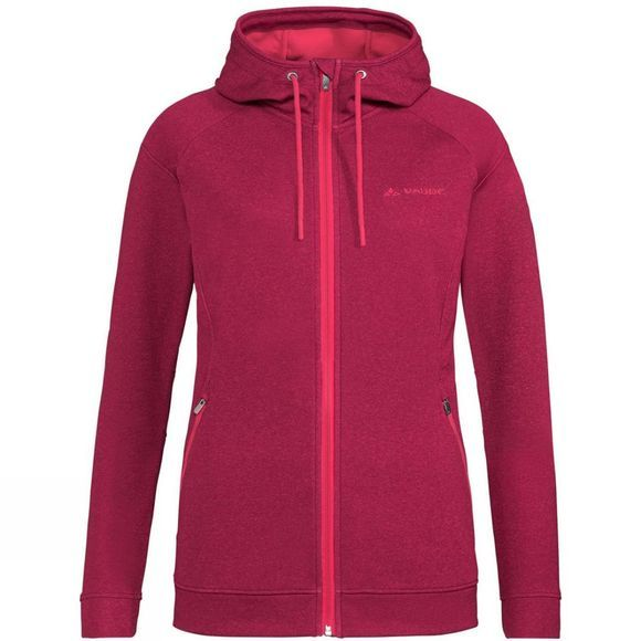 Vaude Womens Skomer Fleece Jacket Crimson Red