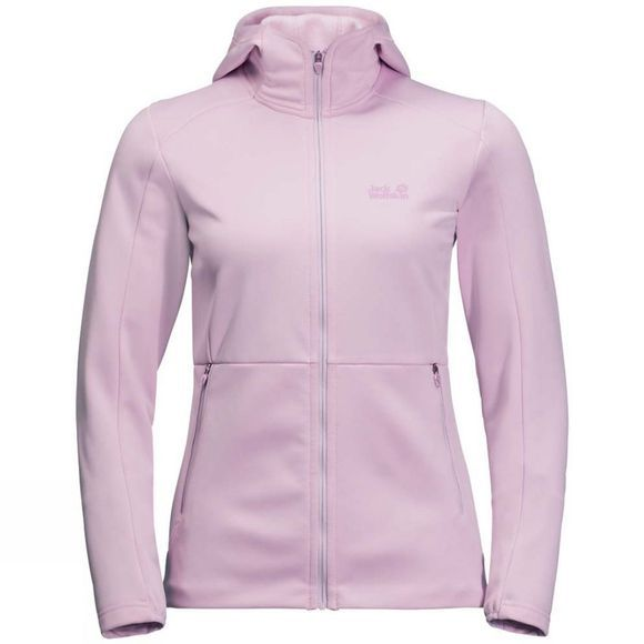 Jack Wolfskin Womens Kiewa Hooded Jacket Blossom