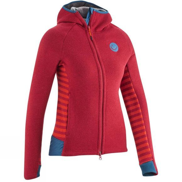 Edelrid Women's Creek Fleece Jacket Vine-red