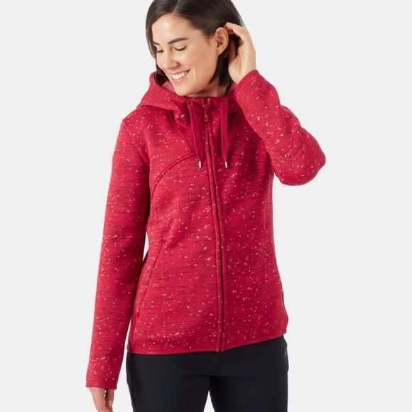 Mammut Womens Chamuera Midlayer Hooded Jacket Scooter