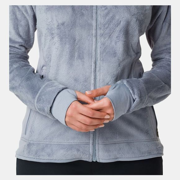 Columbia Womens Pearl Plush II Fleece Tradewinds Grey