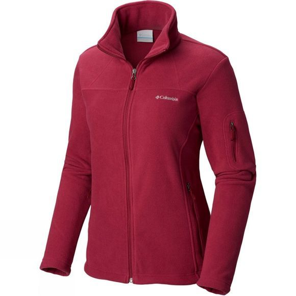Columbia Womens Fast Trek II Jacket Wine Berry