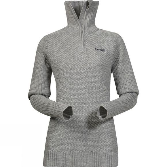 Bergans Womens Ulriken Jumper Grey Melange