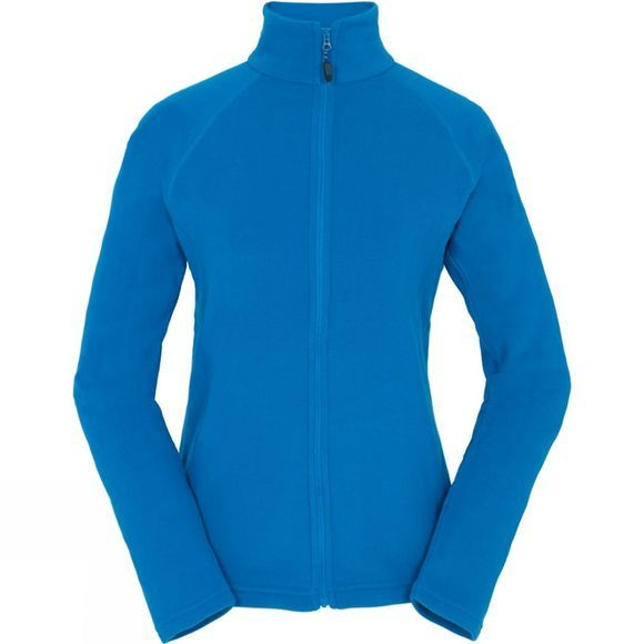 Berghaus Womens Rossett Micro Full Zip Jacket Mykonos Blue