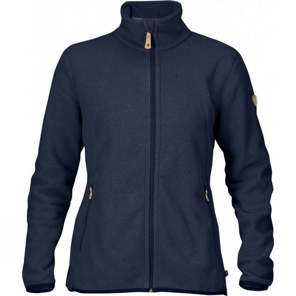 Fjallraven Womens Stina Fleece Dark Navy