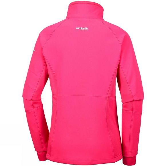 Columbia Womens Titan Ridge II Hybrid Jacket Punch Pink
