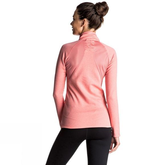 Roxy Womens Dailyrun Fleece Shell Pink