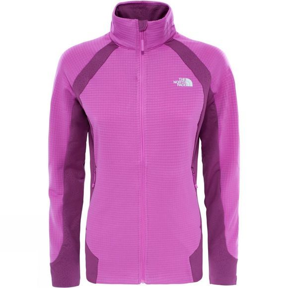 The North Face Womens Kantan Full Zip Jacket Sweet Violet