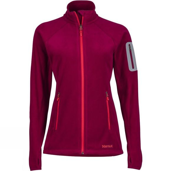 Marmot Womens Flashpoint Jacket Red Dahlia