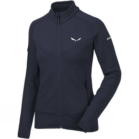 Salewa Womens Ortles Polartec Full Zip Fleece Night Black