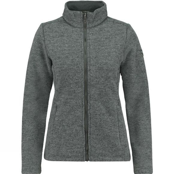 Ayacucho Womens Wool Avenue Fleece Light Grey Melange