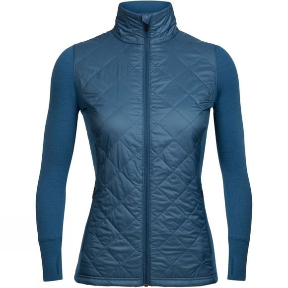 Icebreaker  Womens Ellipse Jacket Prussian Blue