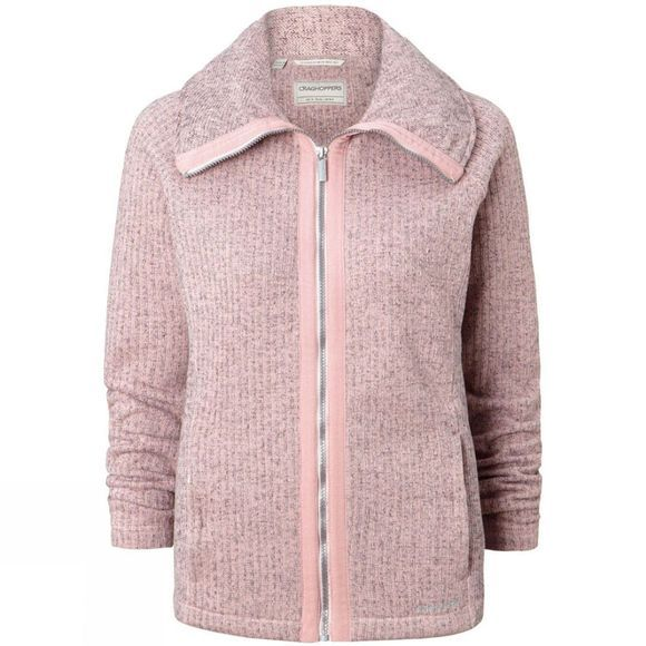 Craghoppers Womens Callins Jacket Blossom Pink Marl