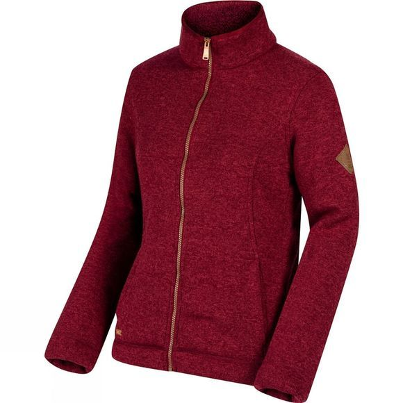 Womens Raneisha Full Zip Fleece