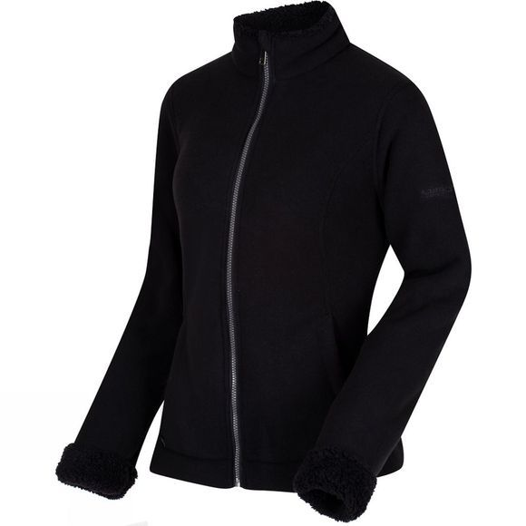 Womens Blesila Full Zip Fleece