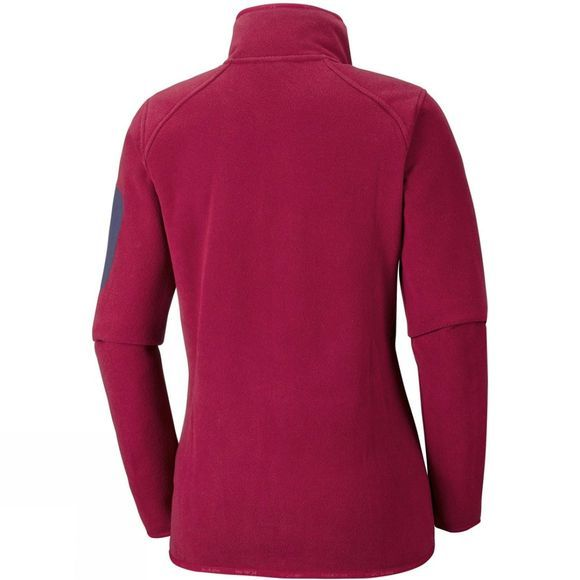 Columbia Womens Outdoor Novelty Fleece Pomegranate