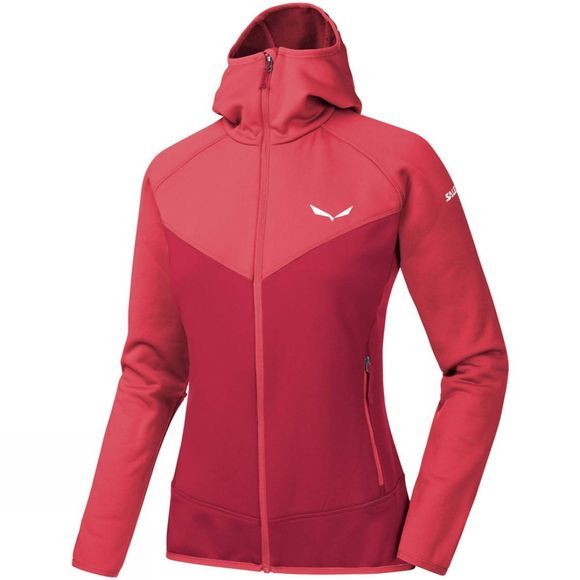 Salewa Womens Puez 3 PL Full Zip Hoody Cornell